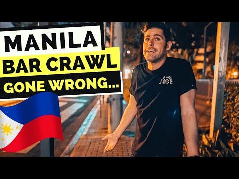 MANILA Bar Crawl - things DIDN'T GO AS PLANNED...