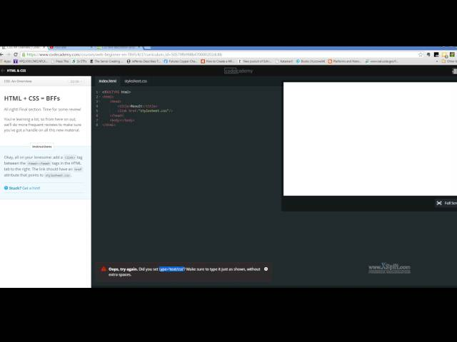 Second Half of CSS in Codecademy's HTML & CSS course
