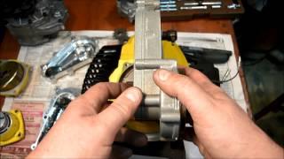 Редукторы для триммерных моторов  Обзор(Редукторы к триммерному двигателю. Передаточные числа от 1/40 до 1/3. Диаметр колокола 78 мм. В завершении ролик..., 2014-12-19T08:45:38.000Z)
