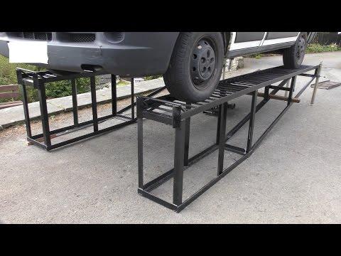 Heavy Duty DIY Car Ramps