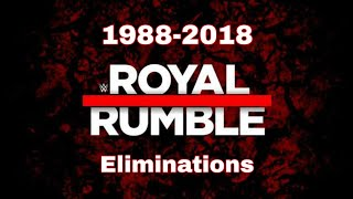 All WWE Royal Rumble Winners And Eliminations