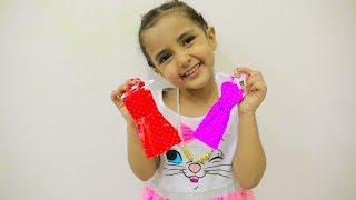 بابا صمم أصغر فستان!!