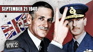 The Brits teach the Germans to bugger off! - WW2 - 056 - September 21 1940