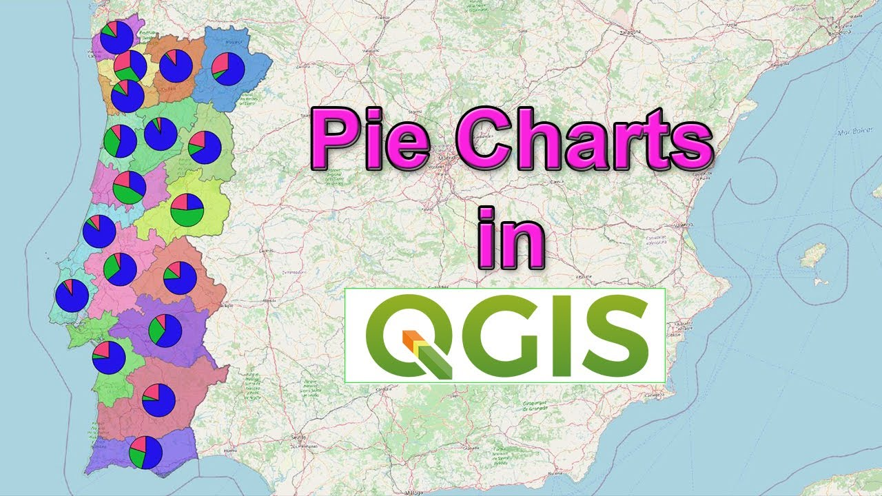 Visualizing Geospatial Data with Pie Charts using QGIS 3