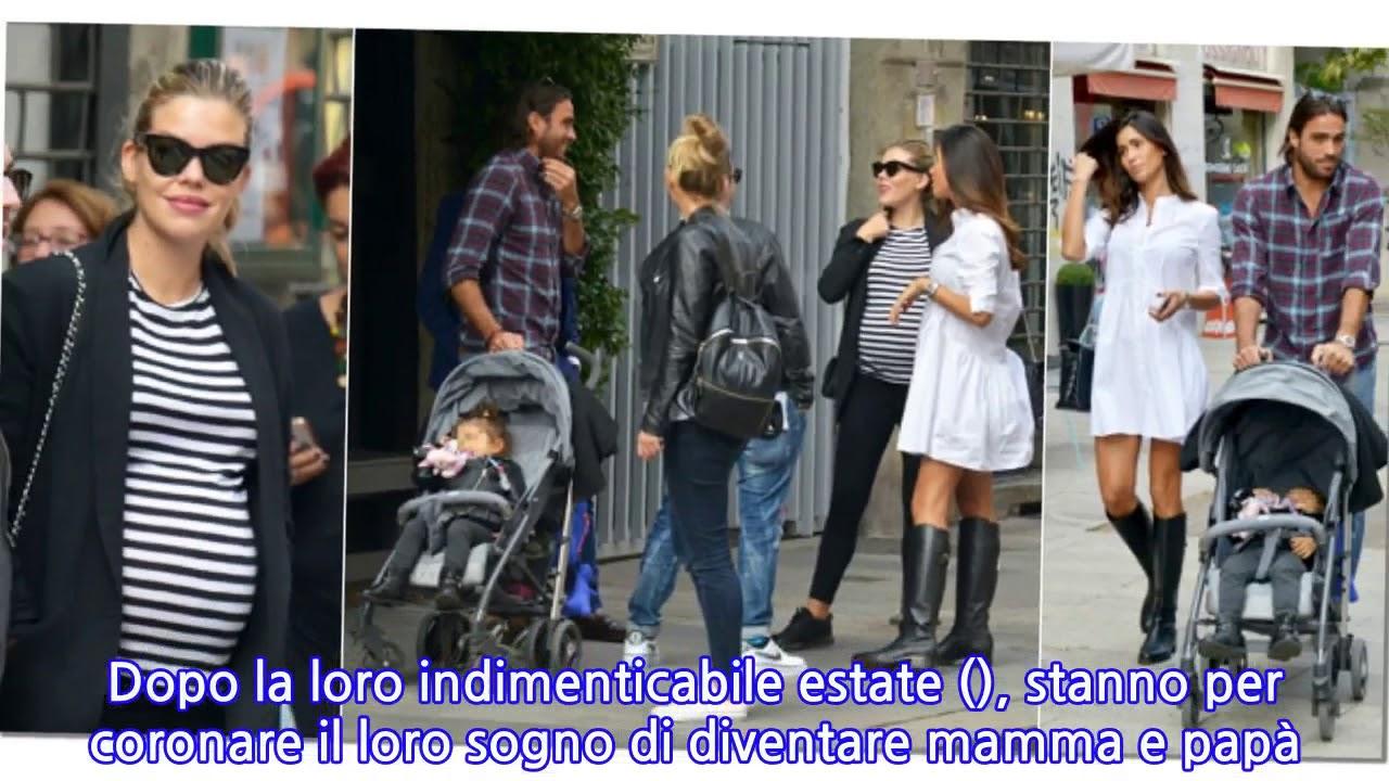 466829321805 Costanza Caracciolo incintissima e Federica Nargi (in abito premaman!) con  marito e.