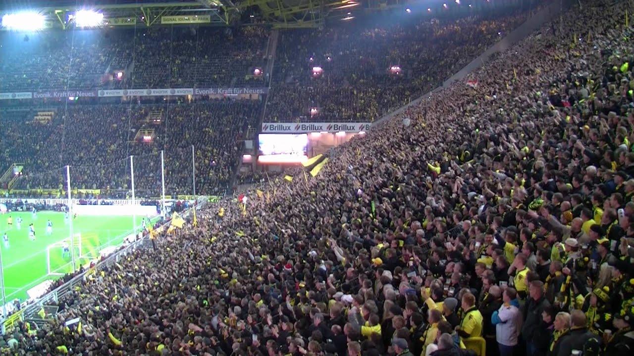 Borussia Dortmund (Derbysieger) vs GE HD Stimmung