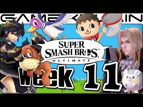 Smash Bros. Ultimate Update: Villager, Duck Hunt, Dark Pit, Alucard, & FE Heroes Music! - Week 11