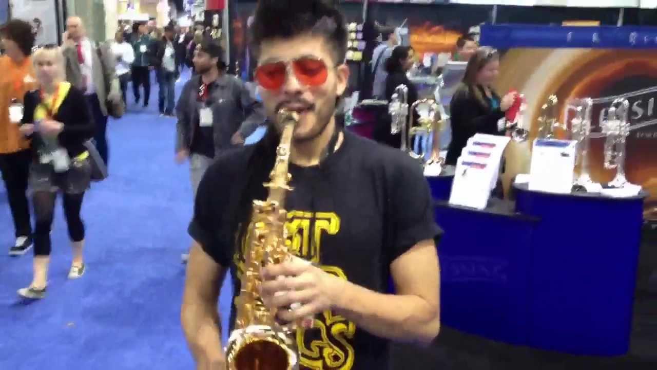 Sergio Flores sexy Saxophonist
