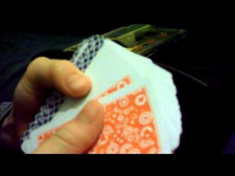 how to make a card shuffler