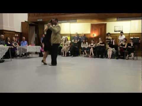 Damian Thompson and Oliwia Otto, Vals in Scotland