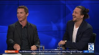 "Shawn Hatosy & Ben Robson Spill on TNT's ""Animal Kingdom"""