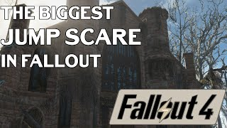 Fallout 4 Funny Moments The BIGGEST Jump Scare EVER
