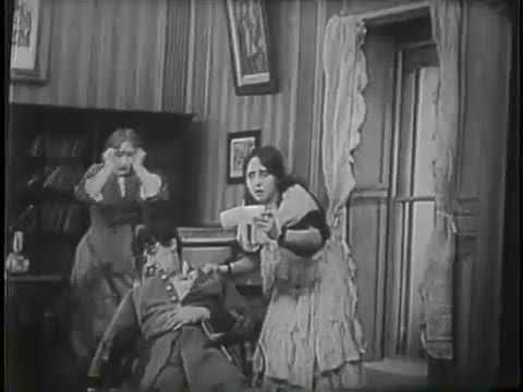 The House of The Closed Shutters (1910) | D.W. Griffith | Full Movie