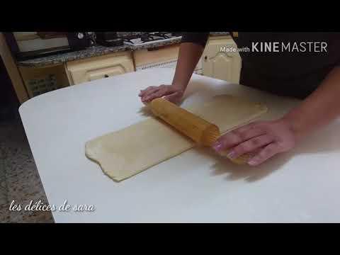 Recette croissant et pain au chocolat facile# وصفة كراوسون