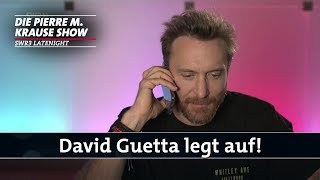 David Guetta legt live während der Pierre M. Krause Show auf!