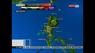 BT: Weather update as of 11:54 a.m. (February 21, 2018)