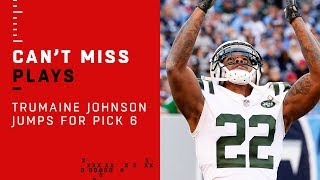 Trumaine Johnson Jumps for Pick 6 vs. Titans