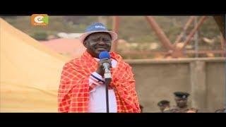 Raila adai Jubilee itawatumia wanajeshi kuiba kura