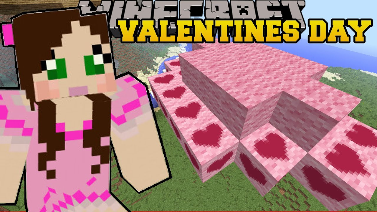 Minecraft: LAND OF CLOUDS! - VALENTINES DAY - Custom Map [2] on