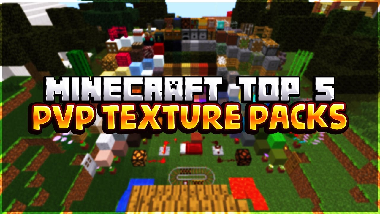 Minecraft Top 5 Pvp Texture Packs 1 7 1 8 Youtube