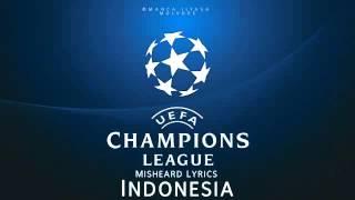 Lucu ,lirik lagu champion versi indonesia