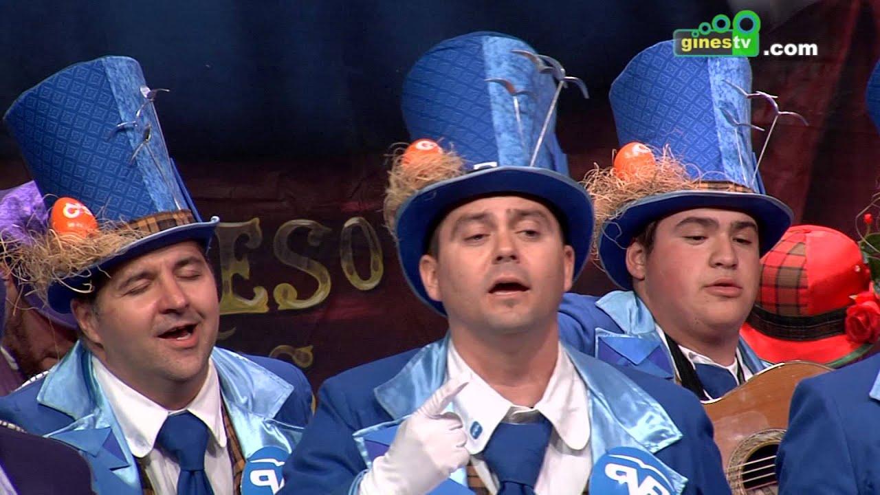El circo de los payasos. Carnaval de Gines 2016 (Sexta semifinal)