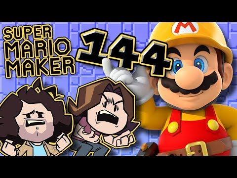 Super Mario Maker: 100% Of My Body - PART 144 - Game Grumps