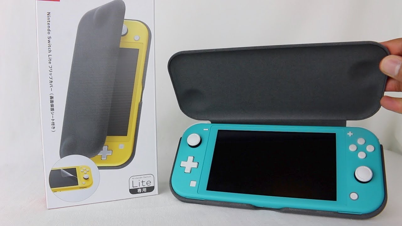 Nintendo Switch Lite Flip Cover Unboxing Review Youtube