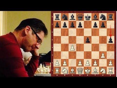 English Chess Opening : Handling a Hack attack in English Opening - Treble commentary!