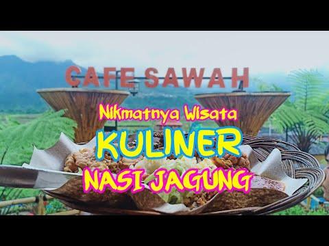 Nikmatnya Wisata Kuliner Nasi Jagung Khas Cafe Sawah Pujon ...