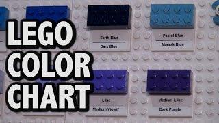 lego piece color chart brickworld chicago 2016