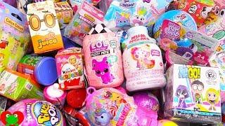LOL Fuzzy Pets, Surprise Eggs, Num Noms Toy Surprises