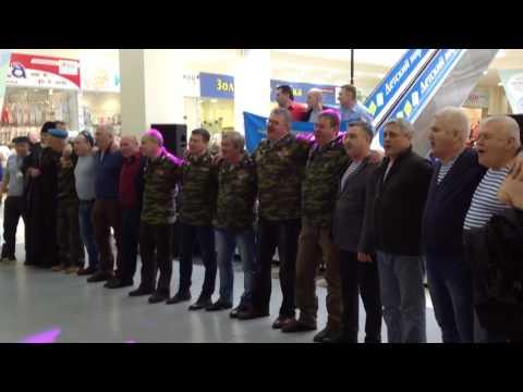 25 февраля 2017 г.Десантный флешмоб в Ярославле, Синева\