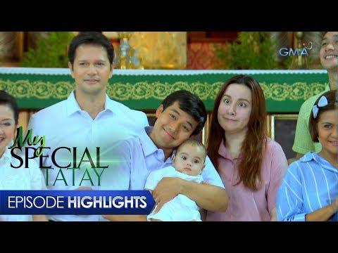 My Special Tatay: Binyag ng unico hijo ni Boyet | Episode 41
