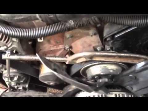 Electric Radiator Fan Wiring Diagram For A 7 Way Trailer Plug Dodge Cummins Clutch Removal - Youtube