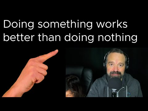 Tanzu Talk: Doing something works better than doing nothing