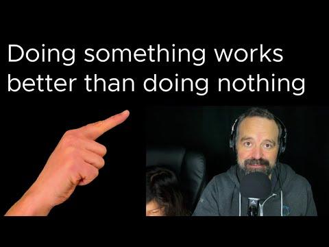 Tanzu Talk: Doing something works better than doing nothing