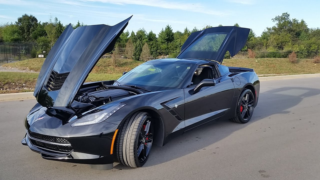 sold2015 chevrolet corvette stingray coupe 3lt 8spd triple black for sale call 855 507 8520 youtube - Corvette 2015 Z06 Black