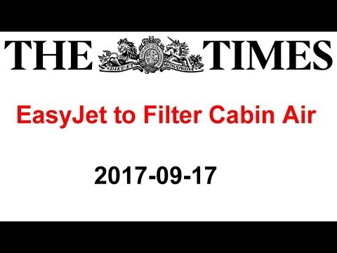 EasyJet to Filter Toxic Air in Cabins (Sunday Times, 2017-09-17)