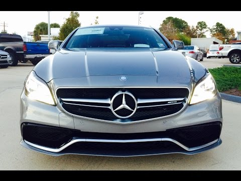 2016/2015 Mercedes Benz CLS63 AMG S-Model 4 Matic Coupe CLS Class Full Review / Exhaust / Start Up