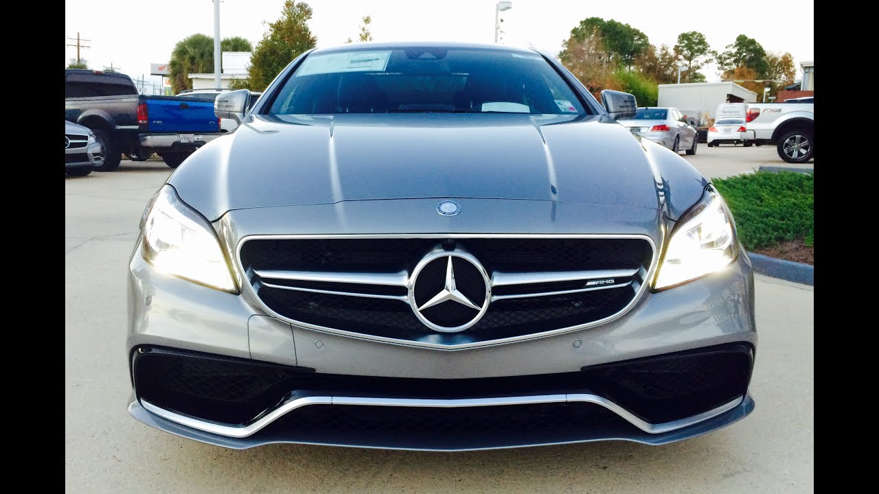 20162015 mercedes benz cls63 amg s model 4 matic coupe cls class full review exhaust start up youtube