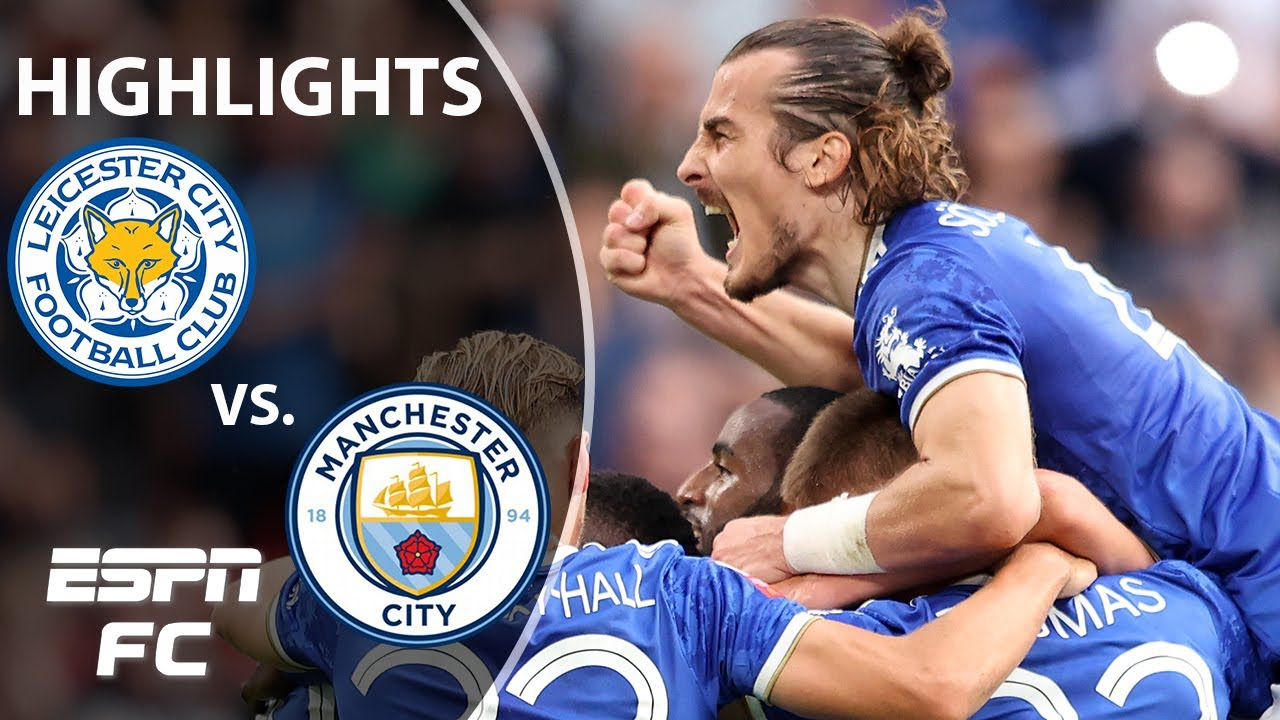 Download Leicester City BEATS Manchester City in the FA Community Shield | ESPN FC Highlights