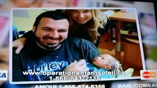 Opération Enfant Soleil 2015 - Alain Dumas et les familles