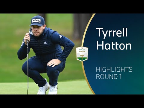 Tyrrell Hatton leads after round one of the BMW PGA Championship