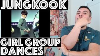 BTS JUNGKOOK Girl Group Dance Compilation REACTION