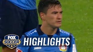 Robert lewandowski converts penalty after var decision | 2017-18 bundesliga highlights