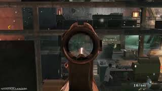 Call of Duty Black Ops Stealth Mission Gameplay Veteran