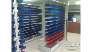 Plastic Bin Shelving for Medical Supply & Bulk Storage