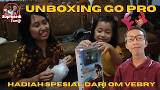 Unboxing GO PRO Hadiah spesial dari Om Vebry    Thangkyu OM..