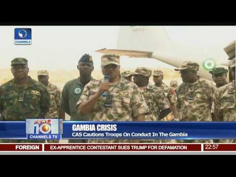 Gambia Crisis: Nigerian Air Force Deploys Troops For ECOWAS Mission